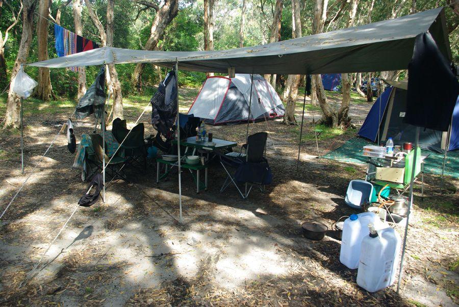Tent C&ing Kitchen Setup & Tent Camping Kitchen Setup | Best Campsite Setup | Pinterest ...