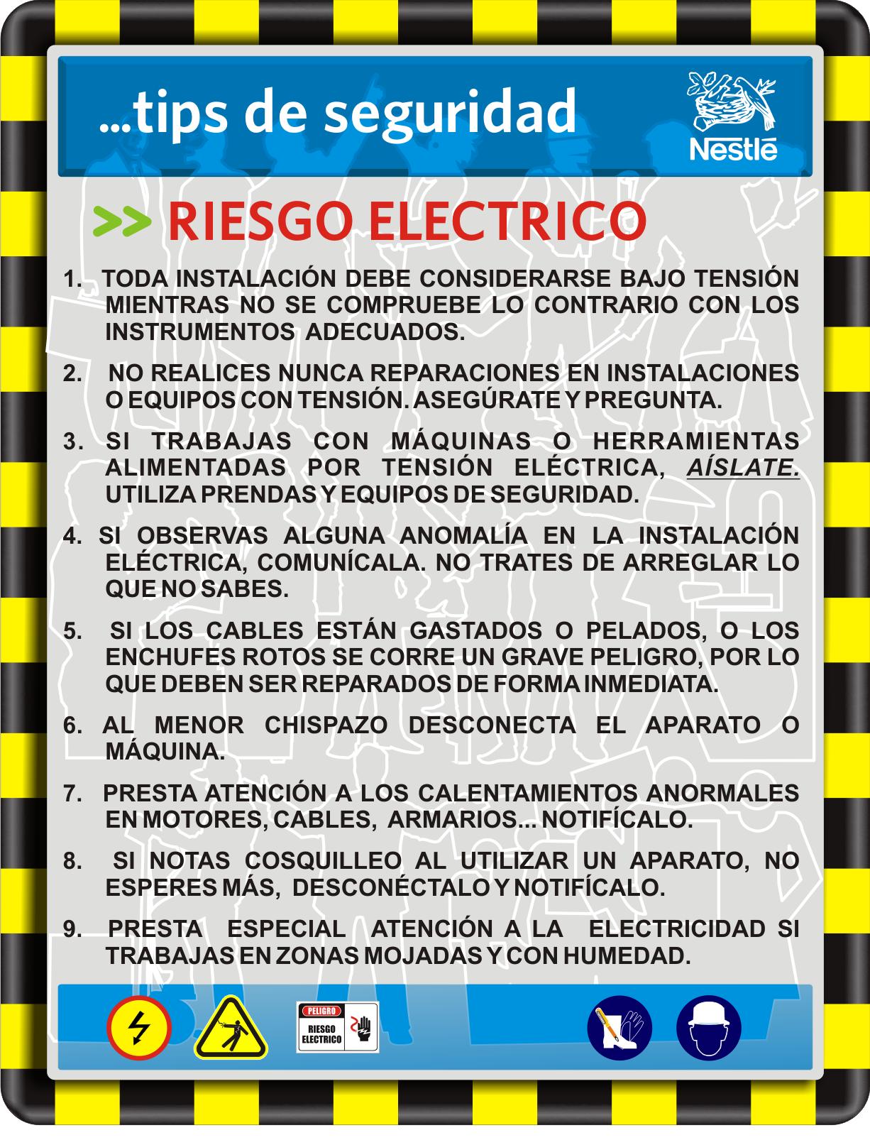 11 Ideas De Electrico Seguridad E Higiene Seguridad Eléctrica Seguridad Industrial