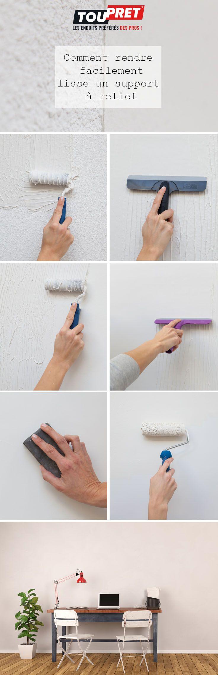 Comment Recouvrir Du Crepi kit enduit magic'murs degrades   toile de verre, toile de