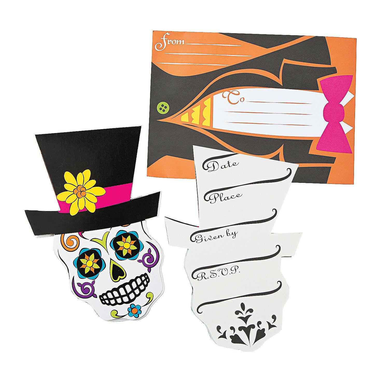 Day Of The Dead Invitations - OrientalTrading.com | Chloe\'s 9th ...