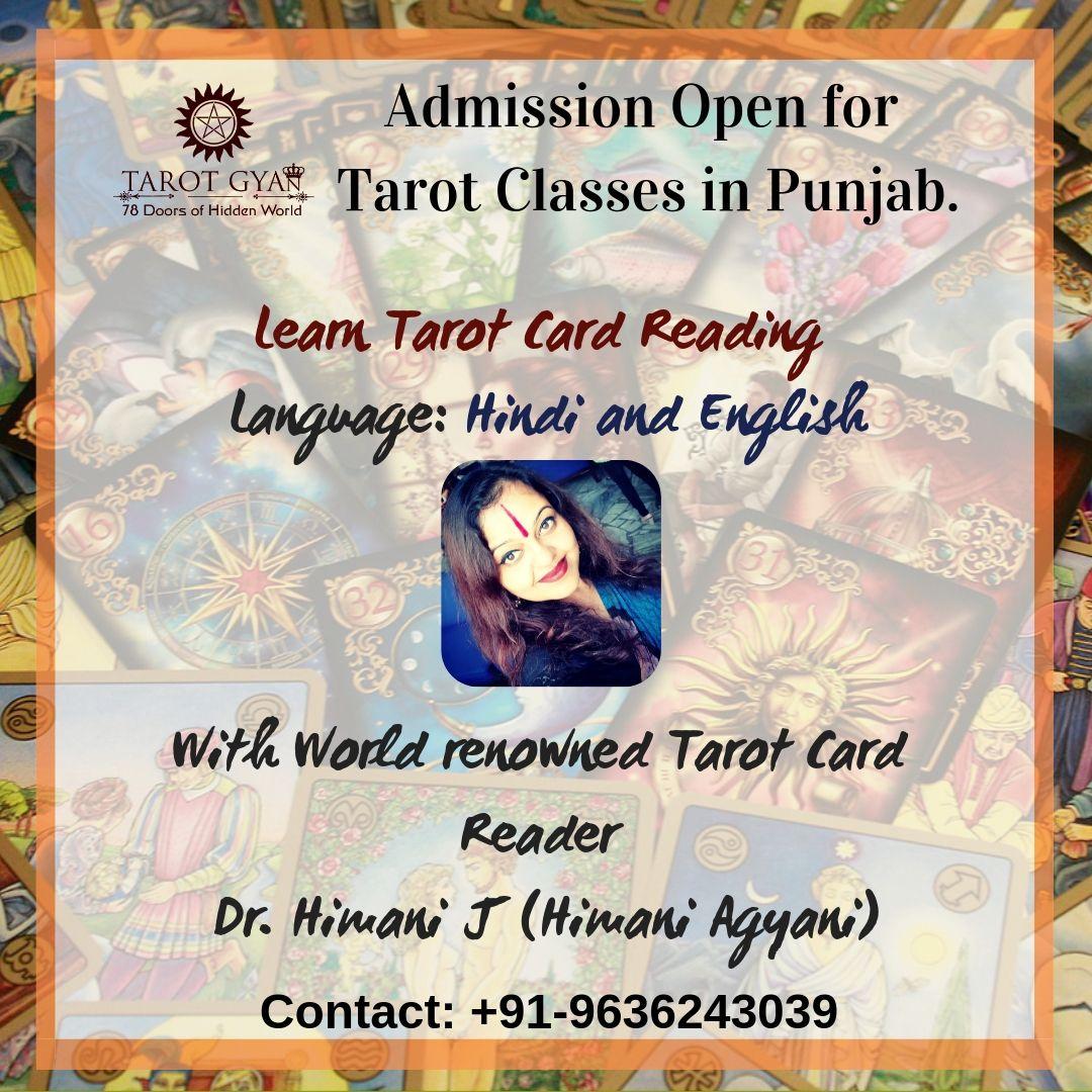 Learn tarot card reading course classes delhi tarot