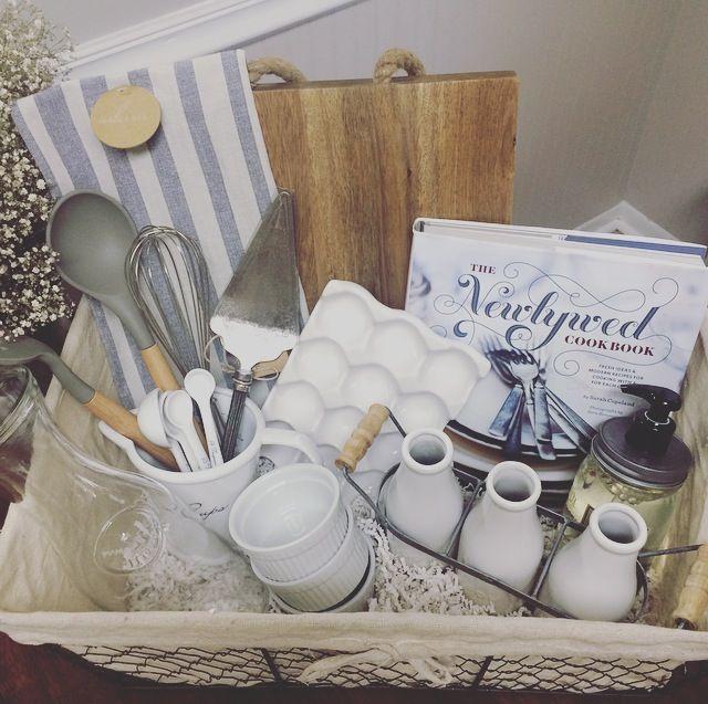 A DIY Wedding Gift Basket