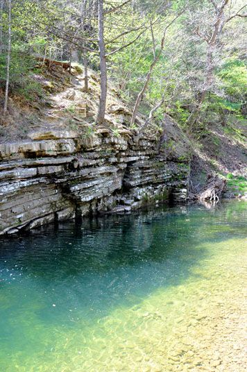 Blue Hole in the Shenandoah Valley of Virginia
