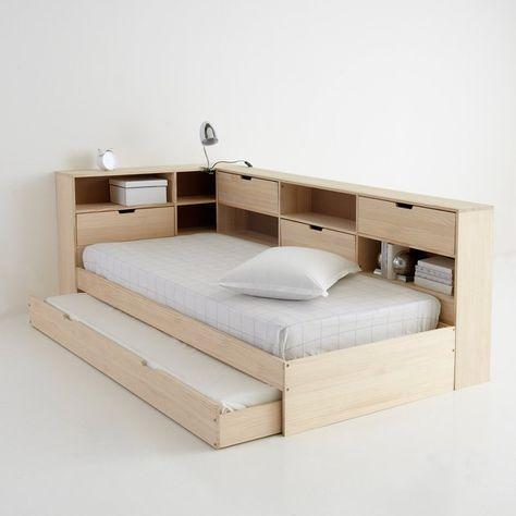 Кровать с ящиком, отделениями для вещей и кроватным основанием yann La Redoute Interieurs | La Redoute
