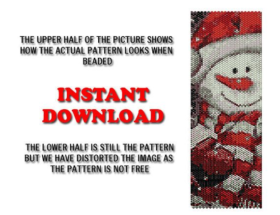 30 OFF Peyote Pattern Beading Pattern by BeadingPatterns2013,