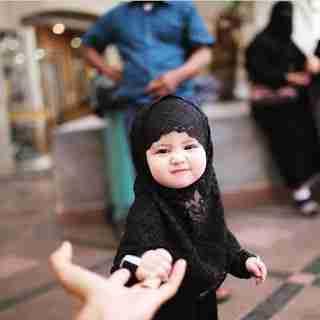 صور بنات صغار Muslim Kids Girls Dp Cute