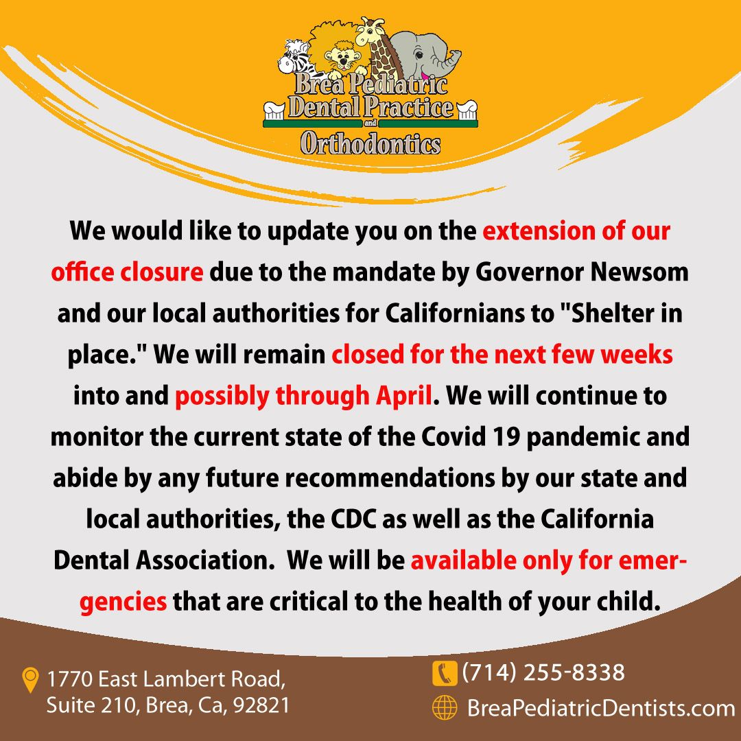 We would like to update you on the extension of our office
