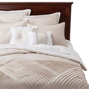 Hepburn 8 Piece Comforter Set - Antique White