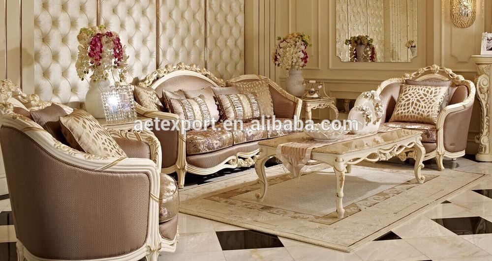 luxe fran ais baroque canap mobilier design classique salon canap tissu canap en coupe avec. Black Bedroom Furniture Sets. Home Design Ideas