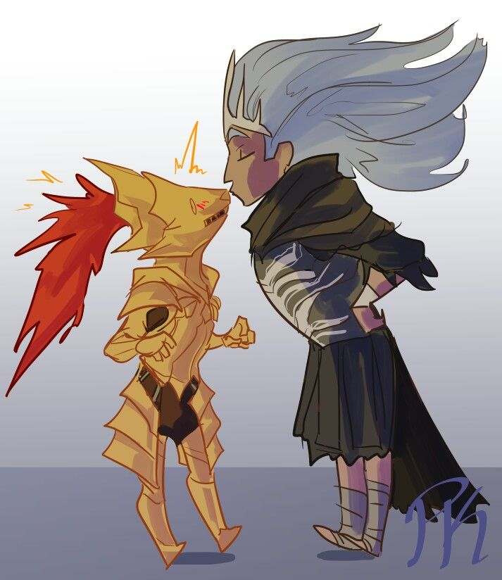 Crossovers King And Queen: Nameless King And Dragonslayer Ornstein