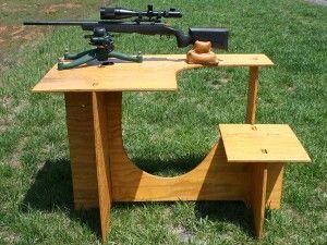 Shooting Bench Shooting Bench Plans Shooting Table