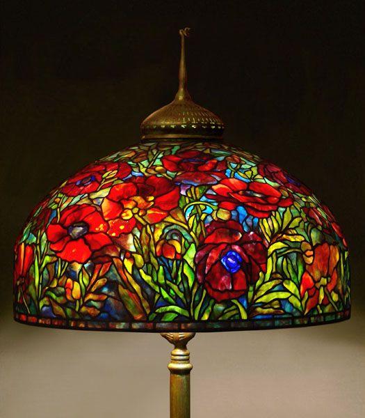 Original Tiffany Lamps 26 Tiffany Reproduction Oriental