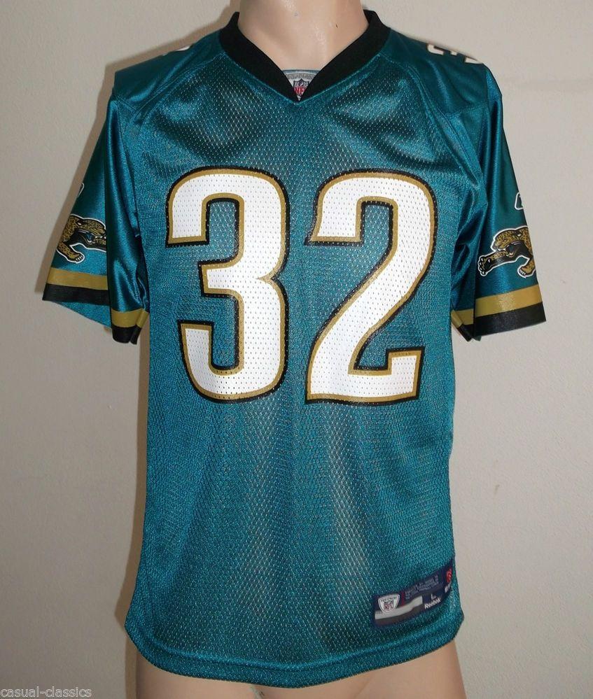NFL Jersey Jacksonville Jaguars JONES-DREW 32 Reebok UK Medium tag L 16-18 0af4eaf0f