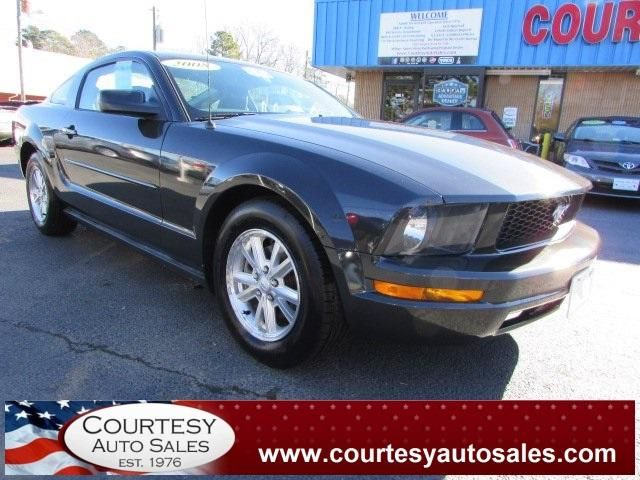 2008 FORD MUSTANG -- LOOKS And DRIVES GREAT! -- CLEAN CAR-FAX! -- Price INCLUDES A 3 MONTH/3,000 Mile WARRANTY! -- CALL TODAY! * 757-424-6404 * FINANCING AVAILABLE! -- Courtesy Auto Sales SPECIALIZES In Providing You With The BEST PRICE On A USED CAR, TRUCK or SUV! -- Get APPROVED TODAY @ courtesyautosales.com * Proudly Serving Your USED CAR NEEDS In Chesapeake, Virginia Beach, Norfolk, Portsmouth, Suffolk, Hampton Roads, Richmond, And ALL Of Virginia SINCE 1976!
