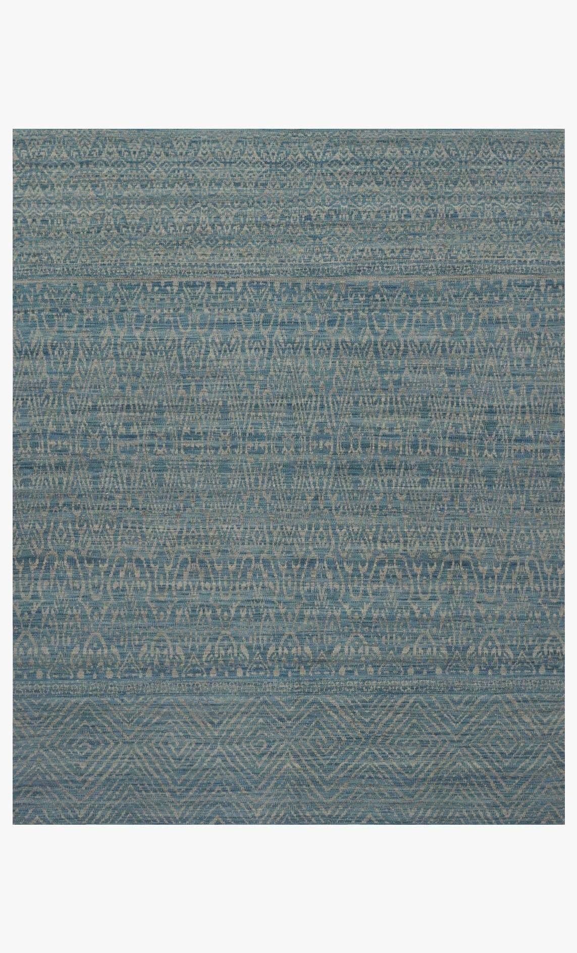 Tribu Rug In Blue Grey By Ed Ellen Degeneres Crafted By Loloi In 2020 Loloi Blue Grey Burke Decor