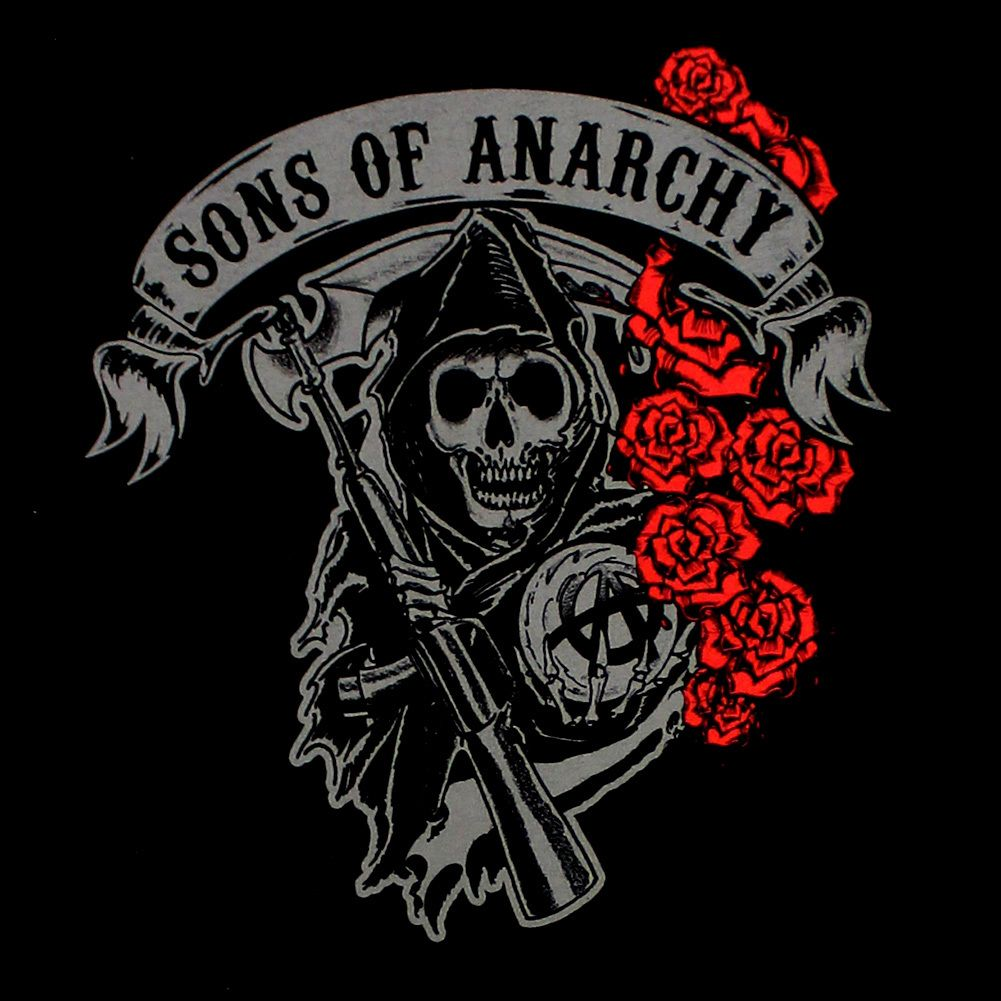 Bikerornot Store Sons Of Anarchy Ladies Red Roses Long Sleeve Shirt 26 97 Http Store Bikerornot Com So Sons Of Anarchy Tattoos Sons Of Anarchy Anarchy