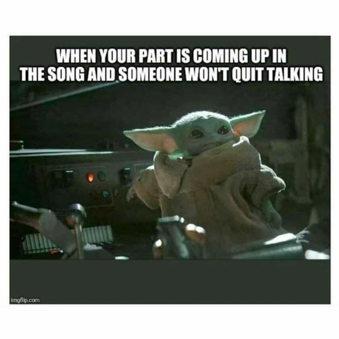 Pin By Brittany Ervin On Baby Yoda In 2020 Yoda Funny Yoda Meme Happy Memes