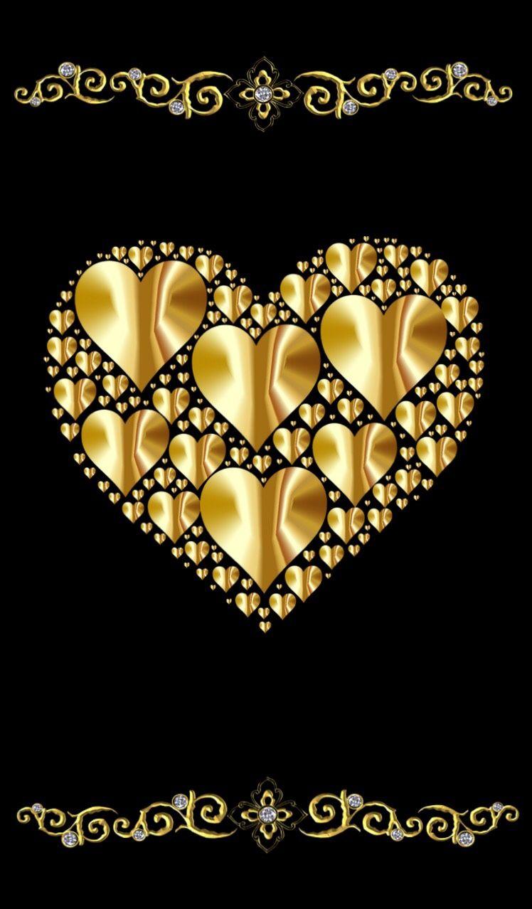 Картинки с надписью у тебя золотое сердце