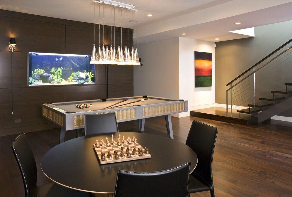 Best Basement Design Modern Family Rooms Recreational Room 400 x 300