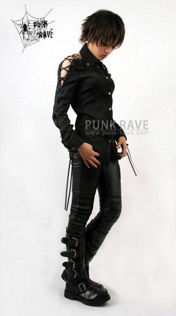 kera gothic visual kei PUNK NANA long shirts blouse