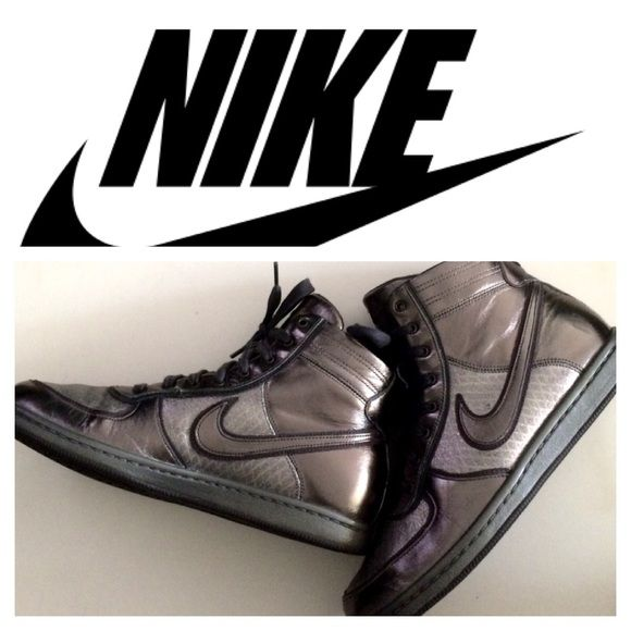 online store 77803 58035 ... step up 3 Selling this Gunmetal Silver Nike Dunks in my Poshmark closet!