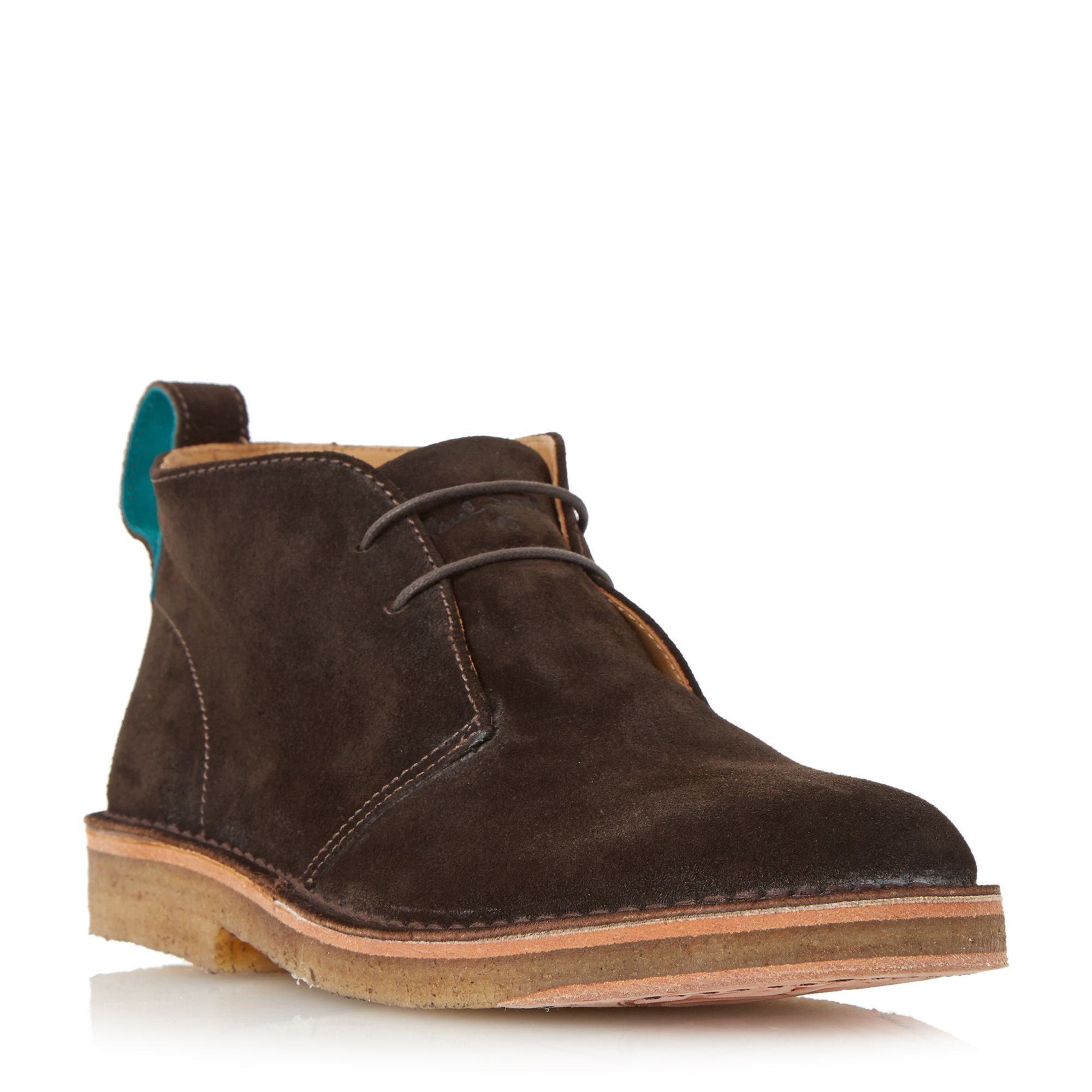 Classic 2 eye desert boots, Desert bootsUpper – SuedeRubber SoleSuedeClean  with soft dry clothMatt finish Get the Paul Smith London Sleater – classic  2 eye ...