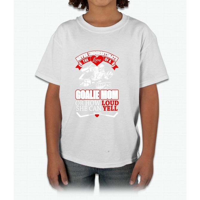 Goalie Mom Young T-Shirt