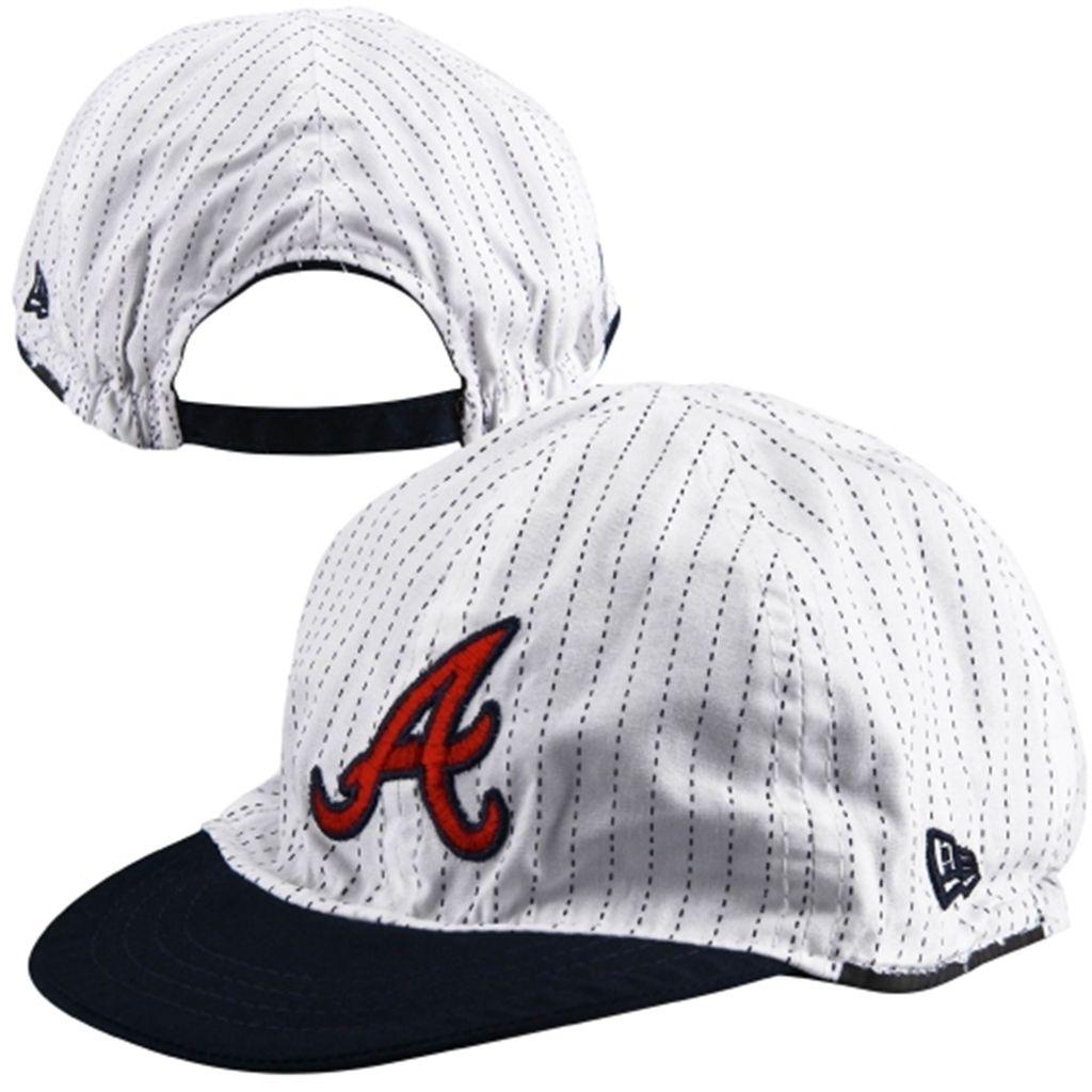 New Era Atlanta Braves Infant Navy Blue White Mesaflip Redux Adjustable Hat Atlanta Braves Hat Atlanta Braves Brave Kids