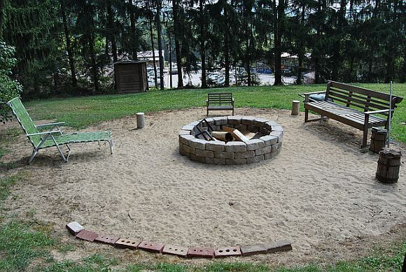 Build A Fire Pit In Two Hours Or Less | Backyard, Fire pit ...