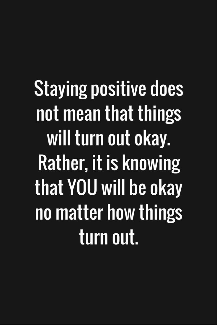 Staying Positive Inspiration Quote Motivation Positive