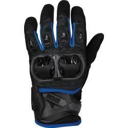 Ixs Lt Montevideo Air S Motocross Handschuhe Schwarz Grau Blau L Ixs