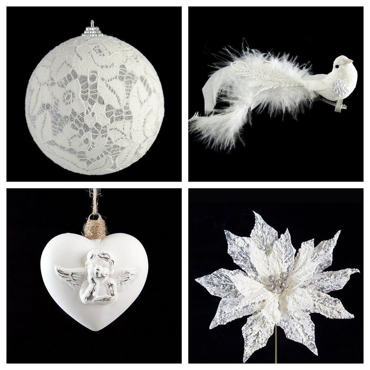 Kwiaty Bombki Ozdoby Swiateczne Choinka Eurofirany 6570038450 Oficjalne Archiwum Allegro Christmas Ornaments Christmas Holiday Decor