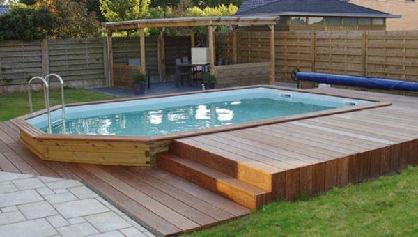 le piscine hors sol en bois 50 mod les terrasse piscine piscine hors sol et. Black Bedroom Furniture Sets. Home Design Ideas