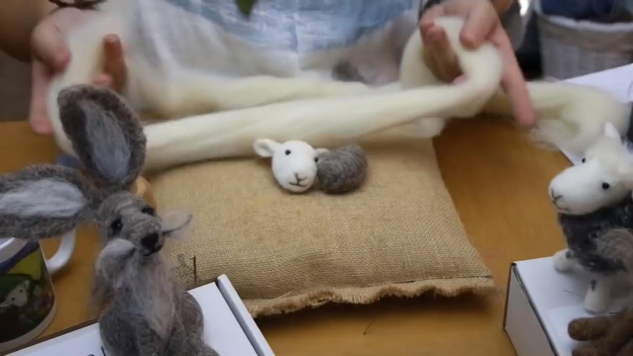 Photo of Needle Felting Animals Video Tutorial