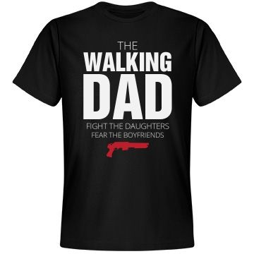 The Walking Dad Parody Christmas Gifts For Brother Funny Christmas Gifts Dad To Be Shirts