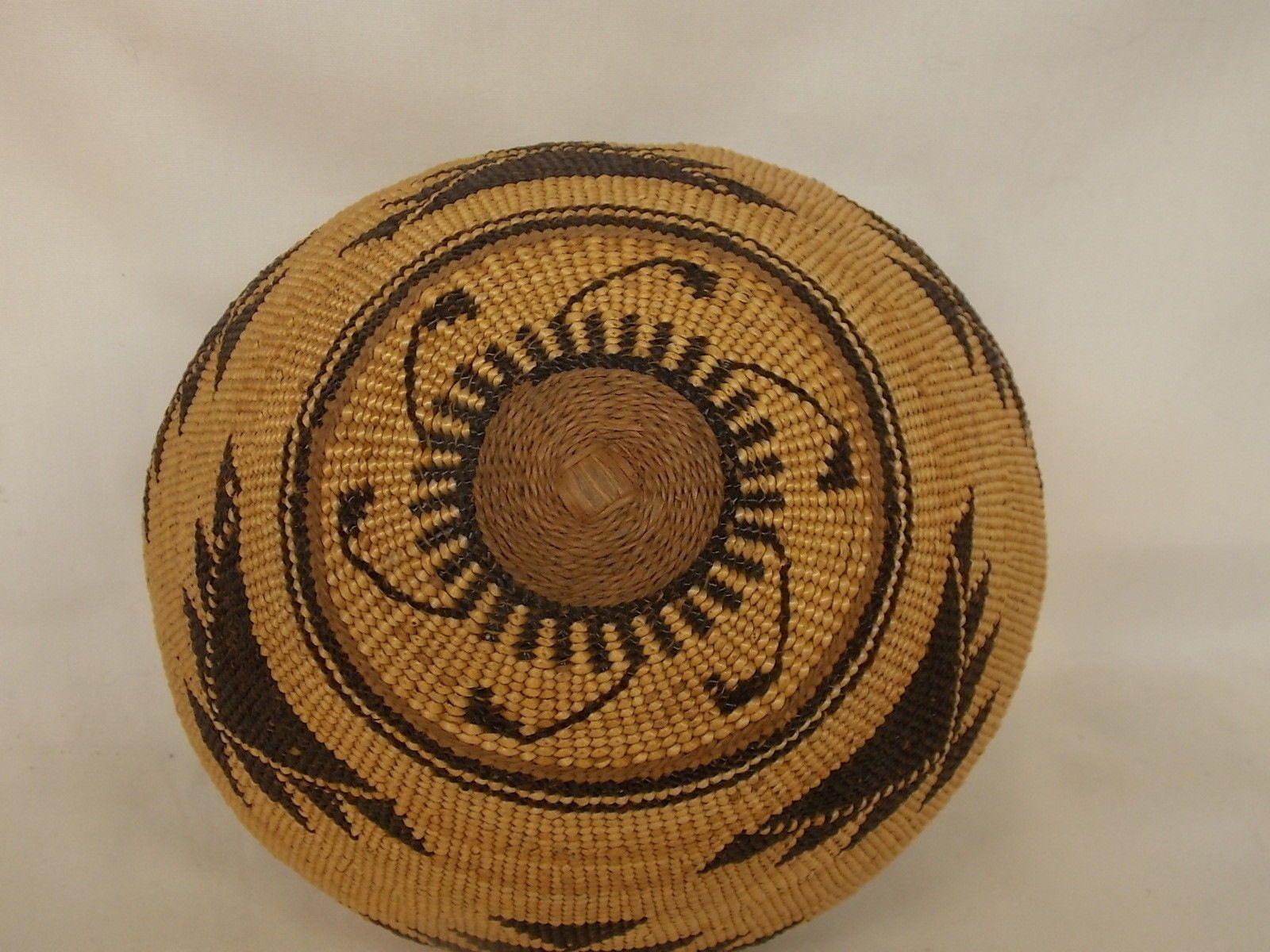 Antique Northern California Native American Indian HUPA Basket | eBay