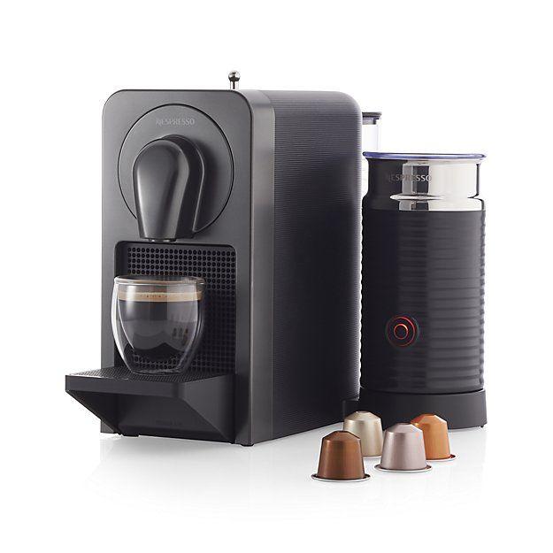 Nespresso Prodigio Espresso Machine Milk Frother Nespresso Crate And Barrel Crates