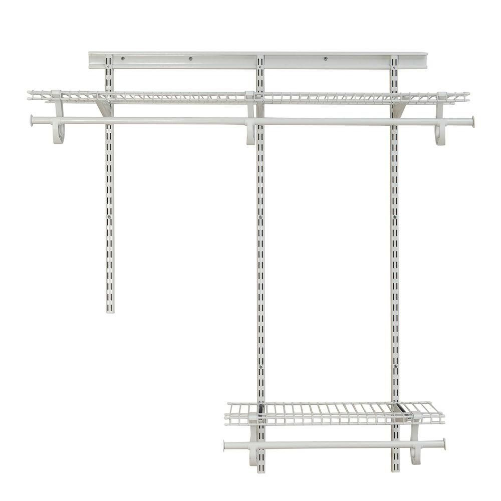 ClosetMaid ShelfTrack 2 ft. to 4 ft. 13.4 in. D x 48.3 in. W x 49.3 ...