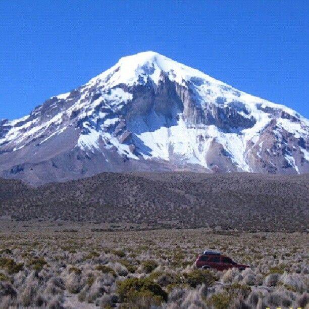 #Sajama #mountain #Bolivia