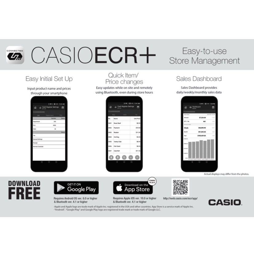 Casio SRC4500 Cash Register (With images) Cash register