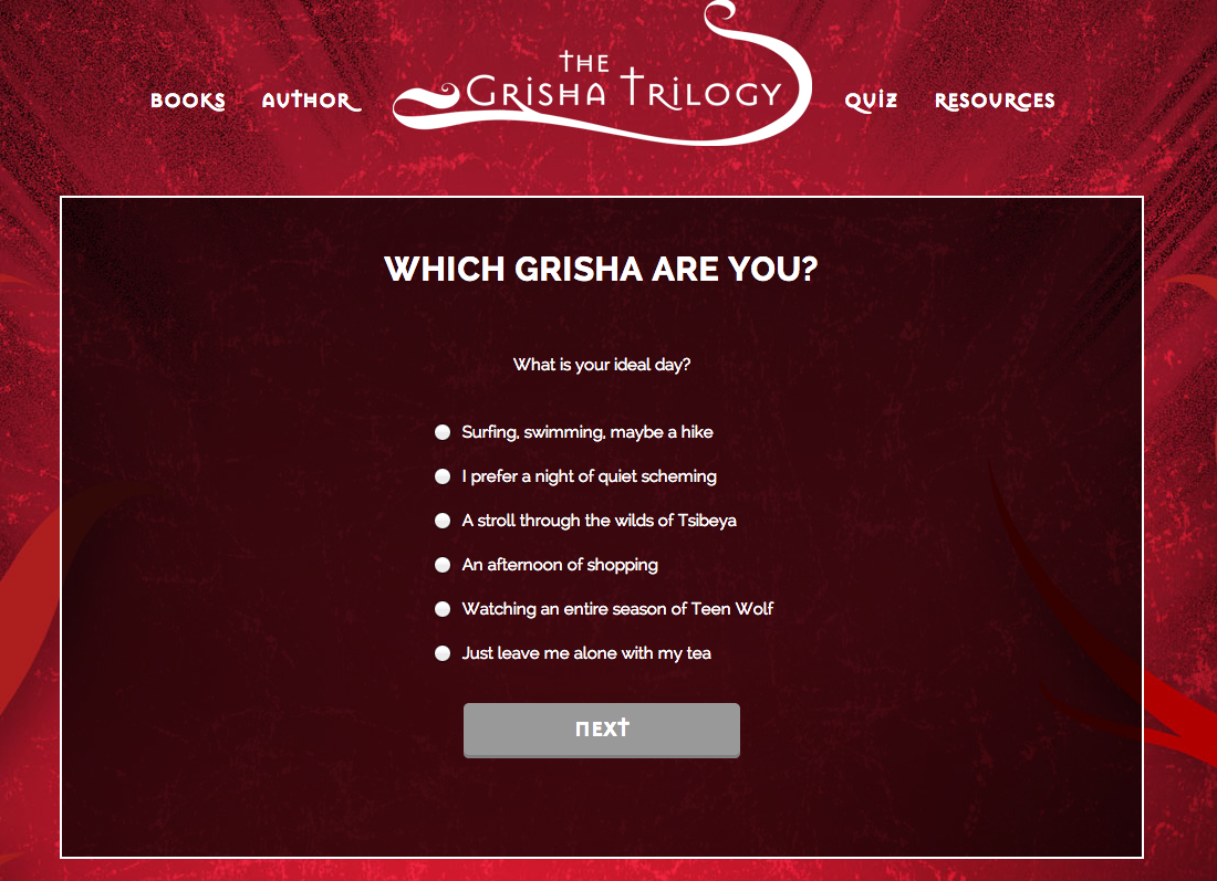 Which Grisha Are You? Take Our Quiz And Find Out At Grishatrilogy!