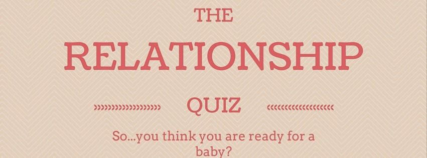Are you ready for a serious relationship quiz