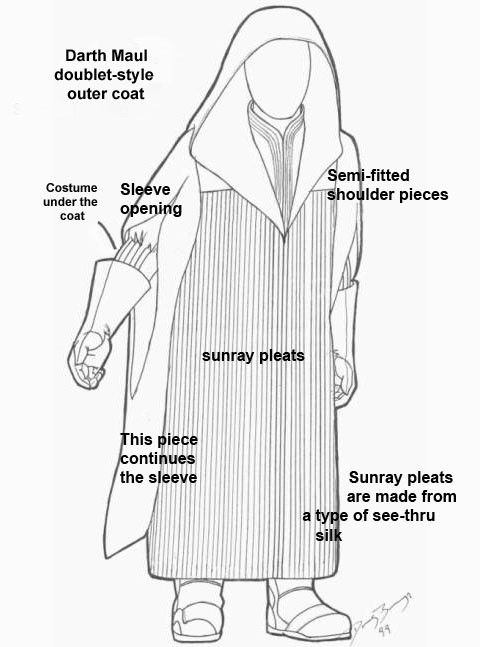 darth maul costume sketch costume ideas darth maul darth maul Party City 70'S Costumes darth maul costume sketch