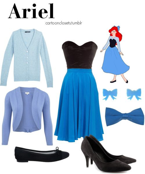 Modern clothes that are inspired by Ariel. Love it!! I would soo wear it!