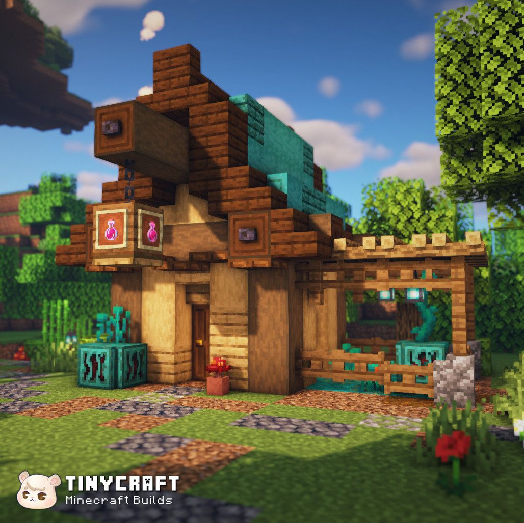 Minecraft Fantasy Medieval House With 1 16 Blocks Minecraft Architecture Minecraft Houses Cute Minecraft Houses