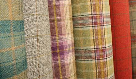 Plaid Wools Are A Bit More Expensive To Furnish But Last Lively Lifetime Love Curtain Materialcurtain Fabricupholsteryplaidchessfurniture