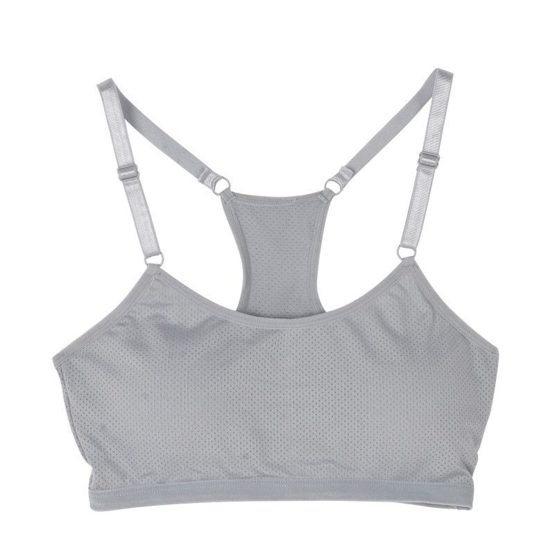dfe3078f9b3be8 Women Seamless Racerback Bra Fitness Padded Stretch Workout Top Tank Solid  Color