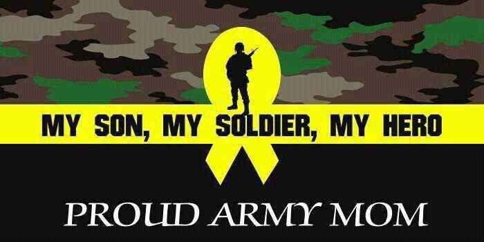 My Son My Soldier My Hero Army Mama Military Mom
