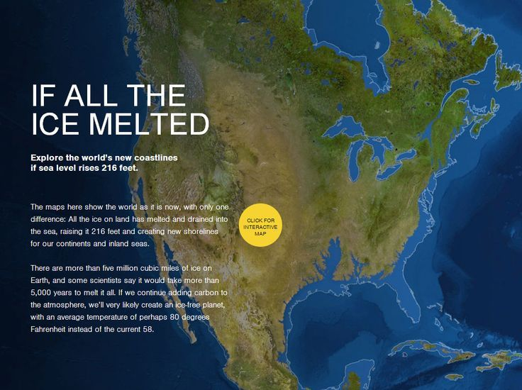 Crazy Eddies Motie News Burning All Fossil Fuels Could Melt - Map of us if polar caps melt