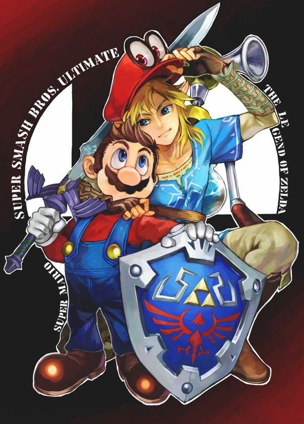 Pin by Paula milla on Zelda | Super smash bros characters
